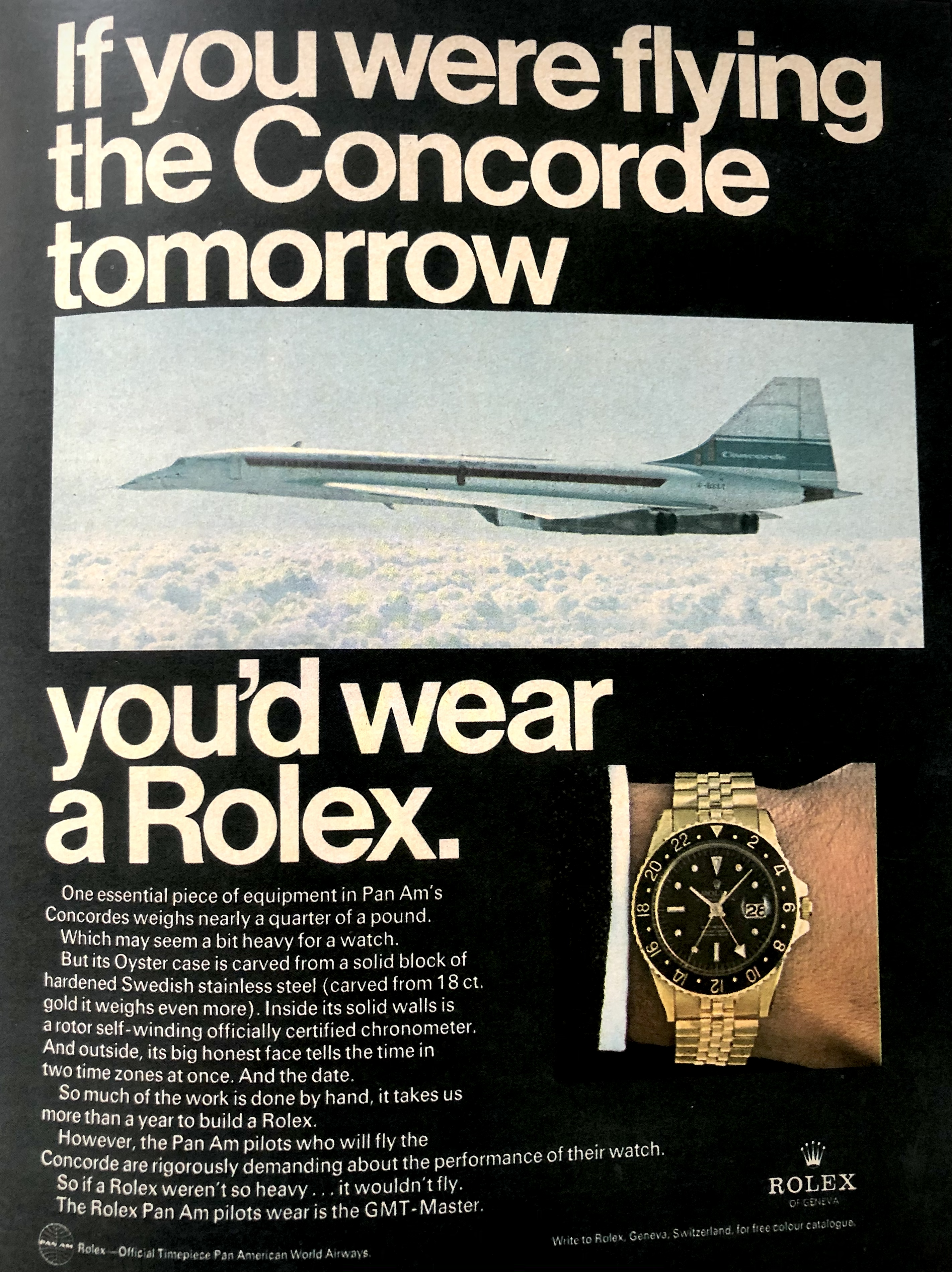 Ad featuring Concord and the 6542